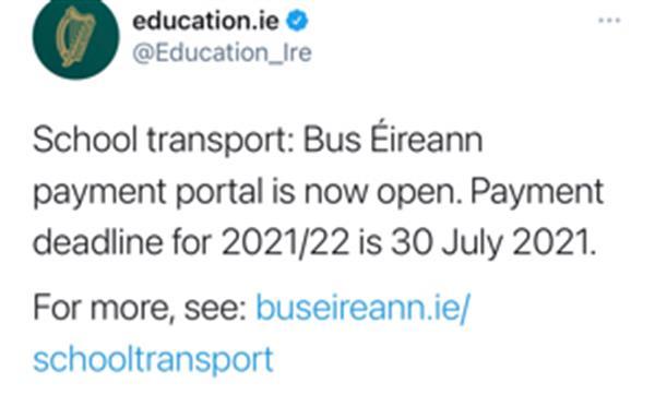 School Transport Applications