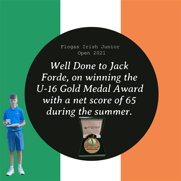 Well done Jack